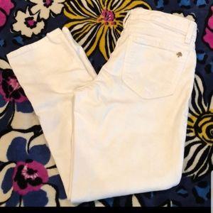 Kate Spade  White Jeans Size 27